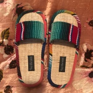 Say The Sun Sandals - Size 11/12